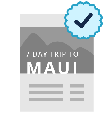Icon of Maui, Hawaii vacation package