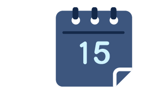 "Chapter 6 of ""What is Travel Insurance All About"" guide, icon of calendar date"